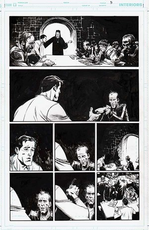 Batman Black & White Iss. 5.p.5 by Andrew Robinson
