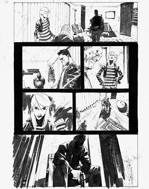 Dead Body Road Issue 3 p.08 by Matteo Scalera