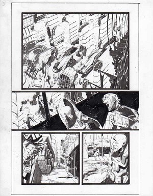 Black Science Issue 14 page 13 by Matteo Scalera