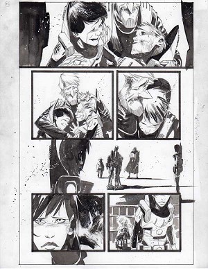 Black Science Issue 14 page 16 by Matteo Scalera