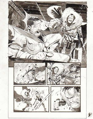 Black Science Issue 16 page 10 by Matteo Scalera