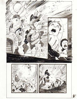 Black Science Issue 16 page 18 by Matteo Scalera