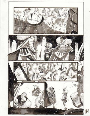 Black Science Issue 16 page 25 by Matteo Scalera