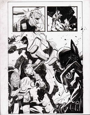 Black Science Issue 3 Page 08 by Matteo Scalera