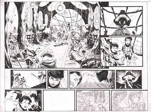 Black Science Issue 10 pages 02-3 by Matteo Scalera