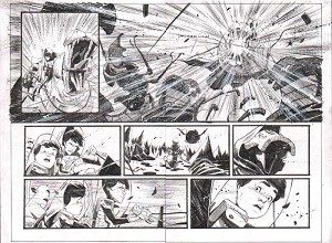 Black Science Issue 10 pages 06-7 by Matteo Scalera