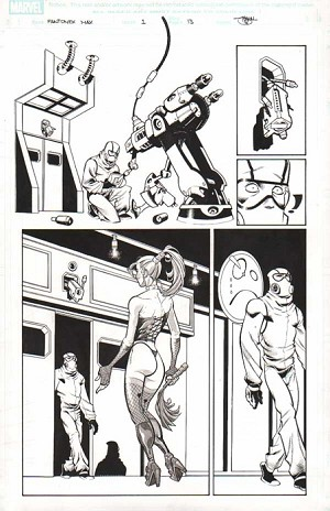 Fantomex Max Issue 1 p.13 by Shawn Crystal