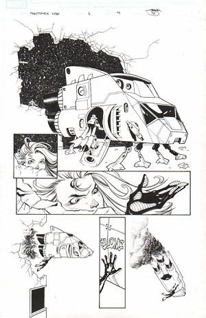 Fantomex Max Issue 1 p.04 by Shawn Crystal