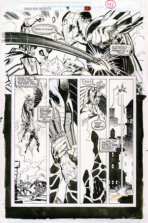 Spider-Man Unlimited #9 p.41 by Klaus Janson